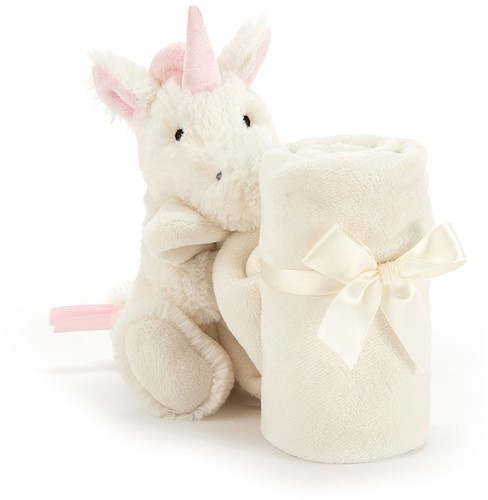 Jellycat Bashful Unicorn Soother - 33 CM-2