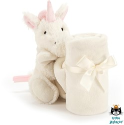 Jellycat Bashful Unicorn Soother - 33 CM