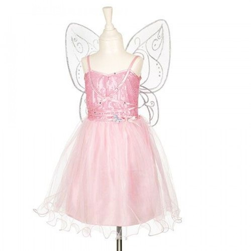 Souza Naline jurk + vleugels, l.roze, 5-7 jr/110-122 cm (1 set)