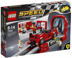 Lego  Speed Champions set Ferrari FXX K Center 75882