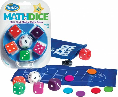 Thinkfun  puzzelspel Math Dice jr.