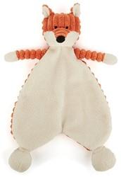 Jellycat Cordy Roy knuffeldoekje Baby Fox Soother - 23 cm