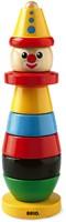 Brio  houten stapelfiguur Stapelclown 30120-1