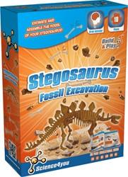 Science4you  wetenschapsdoos Stegosaurus fossiele