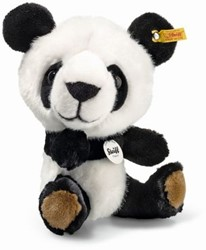 Steiff Big Head Tom panda, white/black