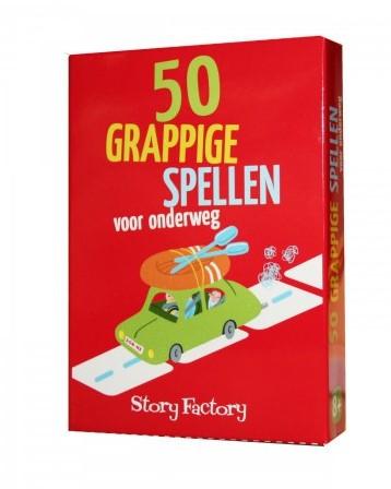 Story Factory reisspel 50 grappige spellen voor onderweg