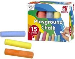 Planet Happy  buitenspeelgoed Clown stoepkrijt 15st