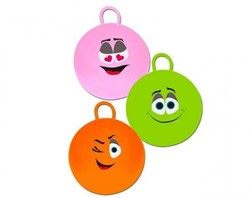 Planet Happy  buitenspeelgoed Skippy bal smiley 70 cm