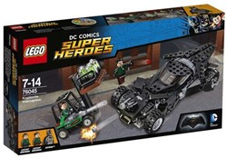 Lego  Super Heroes set Kryptoniet onderschepping 76045