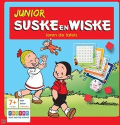 Zwijsen  educatieboek Suske & Wiske leren tafels