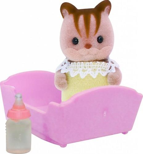 Sylvanian Families  speel figuren Walnut Squirrel baby - 3409
