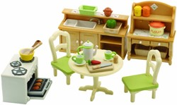 Sylvanian Families  accessoires Dining Room set 2951