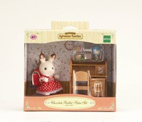 Sylvanian Families  combinatieset Chocolate Rabbit Sister Set 2204-2