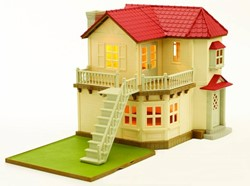 Sylvanian Families gebouw Sylvanian Families City House With Lights 2752
