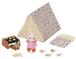 Sylvanian Families  combinatieset Seaside Camping Set 5209