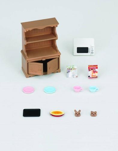 Sylvanian Families  accessoires Kast met Oven-3