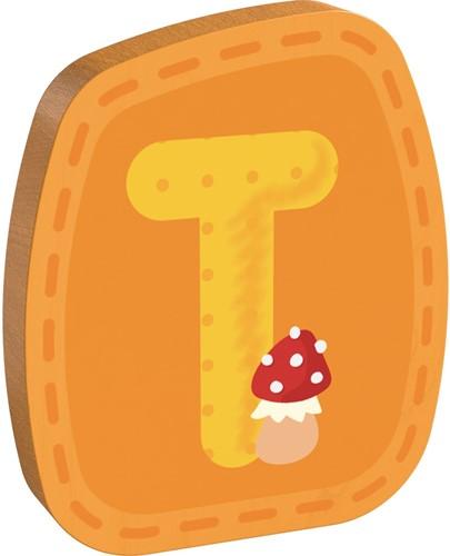 Houten letter T