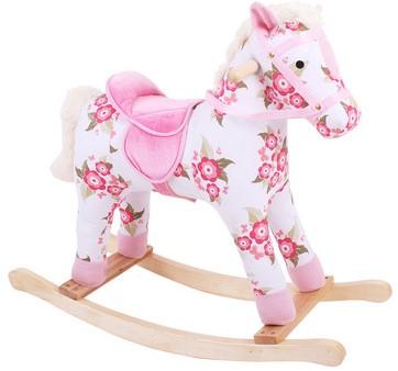 Bigjigs Floral Rocking Horse