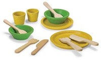 Plan Toys  houten keuken accessoires Tafelgerei set 3605