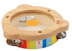 Hape houten muziekinstrument Tamboerijn