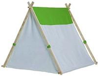 Buitenspeel  houten speeltent Triangle tent-2