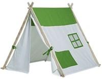 Buitenspeel  houten speeltent Triangle tent