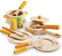 Hape houten keuken accessoires keuken startersset-1