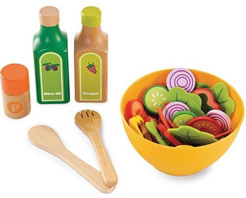 Houten Accessoires Keuken : Hape houten keuken accessoires garden salad bij planet happy