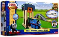 Thomas and Friends  houten trein set Coal hopper figure 8 set-1