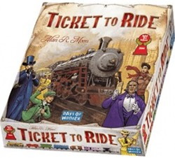 Days of Wonder bordspel Ticket to ride