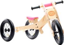 Trybike  houten loopfiets Trybike 4-in-1 Roze