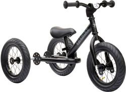 Trybike loopfiets 2-in-1 zwart staal