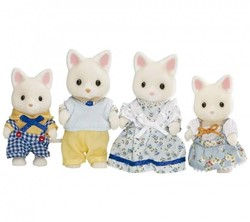 Sylvanian Families  speel figuren Family Silk Cat - 3143