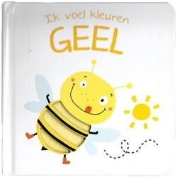 YoYo Books  babyboek Ik voel kleuren geel