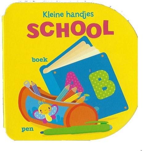 Kinderboeken  voorleesboek kleine handjes SCHOOL