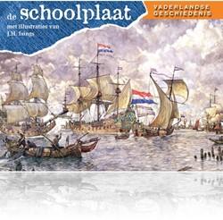 Kinderboeken  educatieboek de schoolplaat vaderlandse geschidenis deel 1