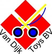 Van Dijk Toys  poppen accessoires Dekje Rood met witte stippen