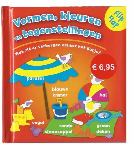 Kinderboeken  babyboek Vormen, kleuren, tegenstelling