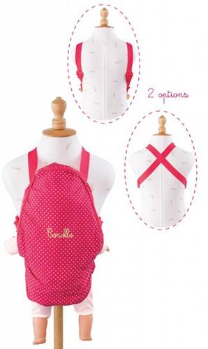 Corolle poppenkleding Baby Doll Sling Cherry  CMW90-2
