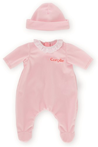 Corolle Mon Premier Poupon kleding Pajamas-Pink 30 cm
