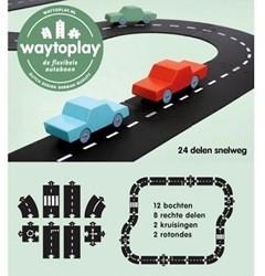 Waytoplay  speelstad weg Snelweg 24-delig
