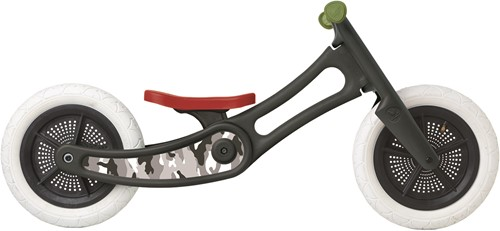Wishbonebike loopfiets accessoires recycled stickers Camo