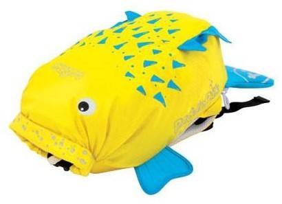 Trunki zwemtas PaddlePak Spike vis geel