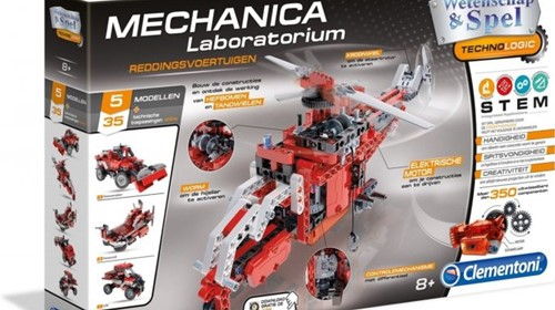 Clementoni technologie Mechanisch Laboratorium