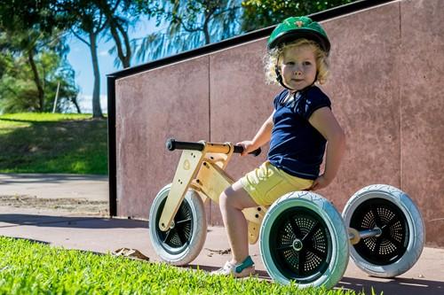 Wishbonebike  houten loopfiets 3 in 1 bike hout-3