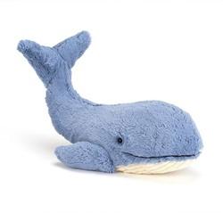 Jellycat  Wilbur walvis - 46 cm