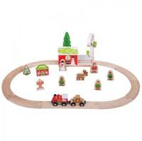 BigJigs Winter Wonderland Train