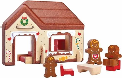 Plan Toys Plan City houten gebouw Huis van koekjes-2